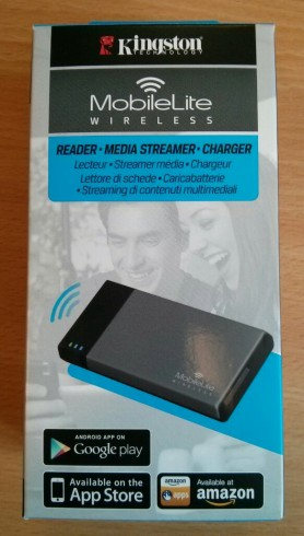 Kingston MobileLite Wireless Box