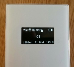 TP-Link 3G Mobile WiFi Screen