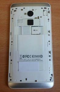 Naked HTC One Max