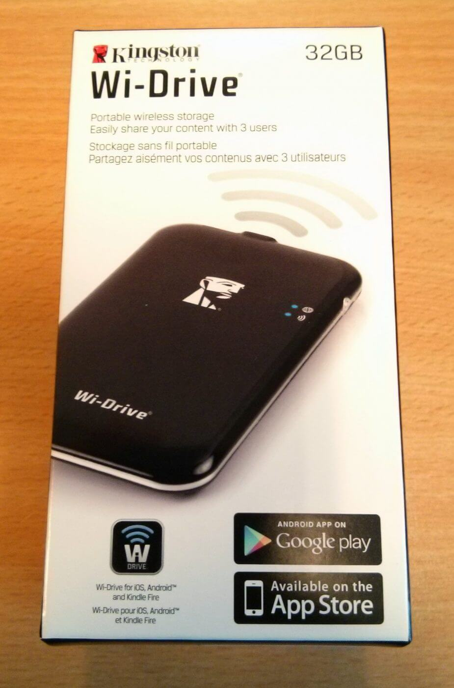 Kingston Wi-Drive Review - Geek News Central