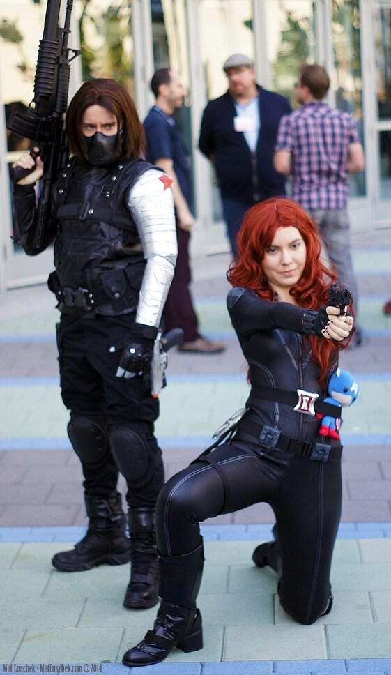 Winter Soldier and Black Widow