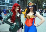 Poison Ivy and Wonderwoman