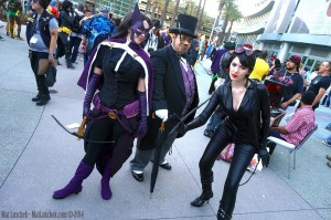 Huntress, Penguin and Catwoman