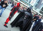 Dead Pool and Darth Vader