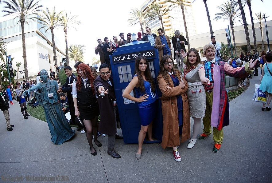 Doctor Who Gang (The Adventure Effect)