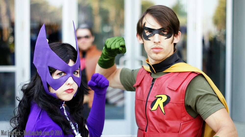 Huntress and Robin