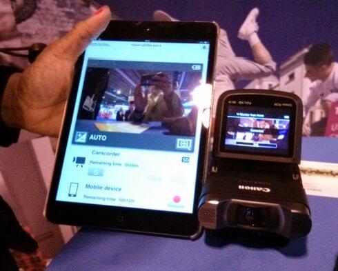 Canon Legria Mini X Streaming