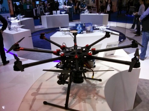 Eight Rotor Copter