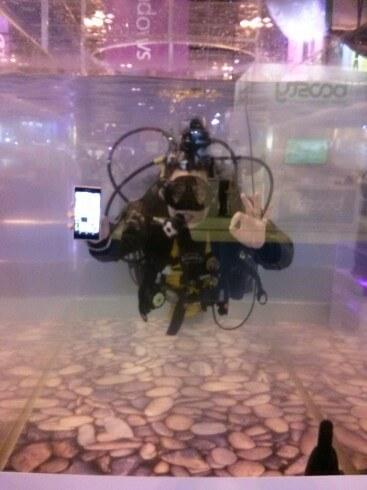 Xperia Z2 Underwater