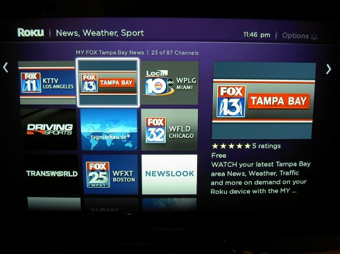 US Local News on Roku