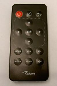 Optoma ML1500 Remote Control