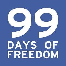 99 Days of Freedom logo