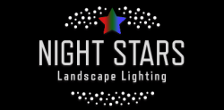 Night Stars Landscape Lights Logo