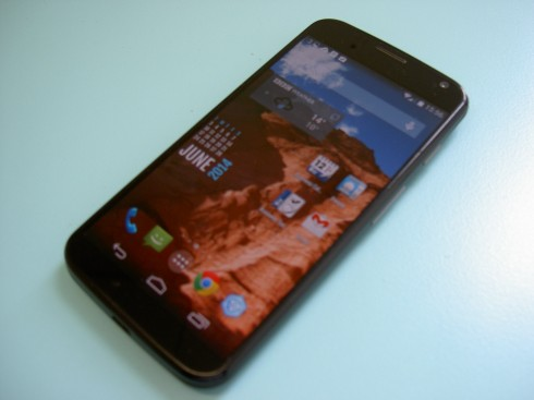 Moto X Front View