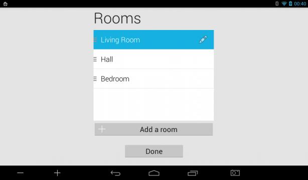 Smart Home Rooms