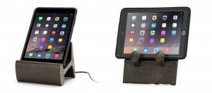 Rail Slice tablet stand and Rail artifact stand