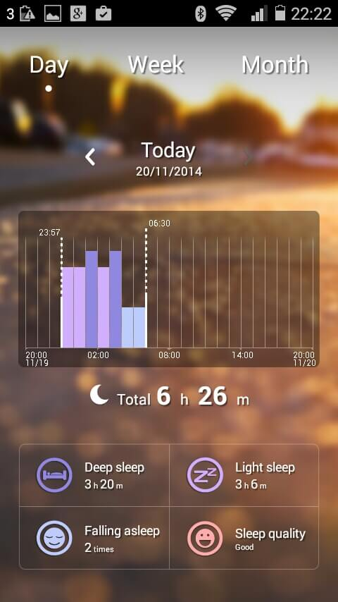 Sleep Tracking