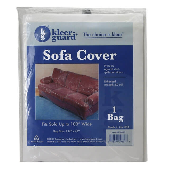 Plastic Sofa Protector Clear Furniture Slipcovers Ebay