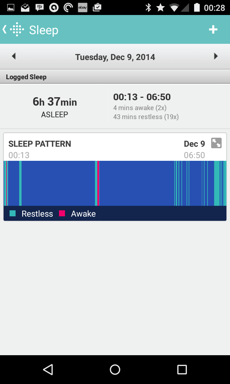 Flex Sleep Tracking