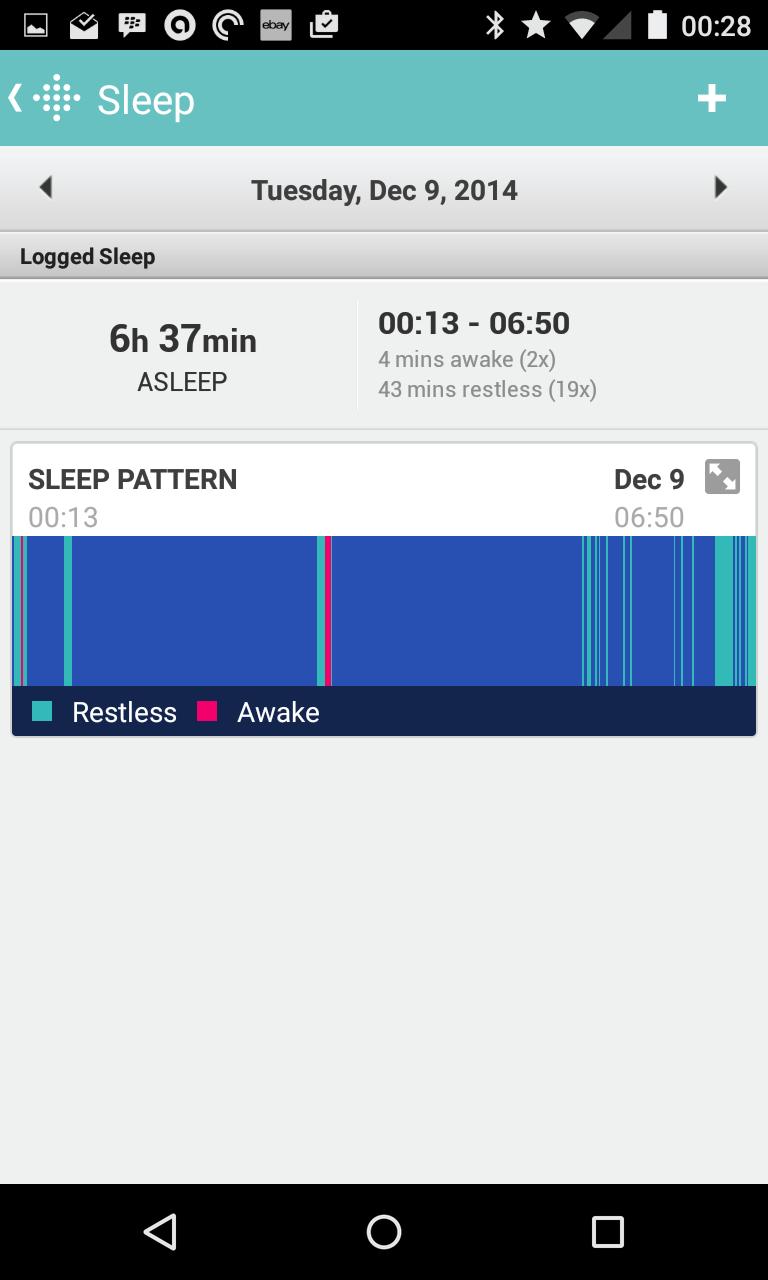 Flex Sleep Tracking