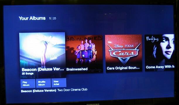 Fire TV Albums