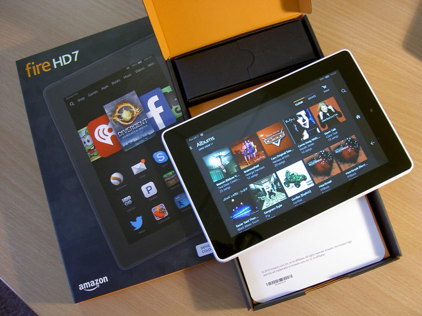 amazon fire hd 7 review geek news central. Black Bedroom Furniture Sets. Home Design Ideas