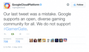 Google Cloud Platform clarifies