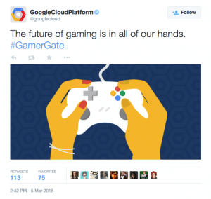 Google Cloud Platform deleted this tweet