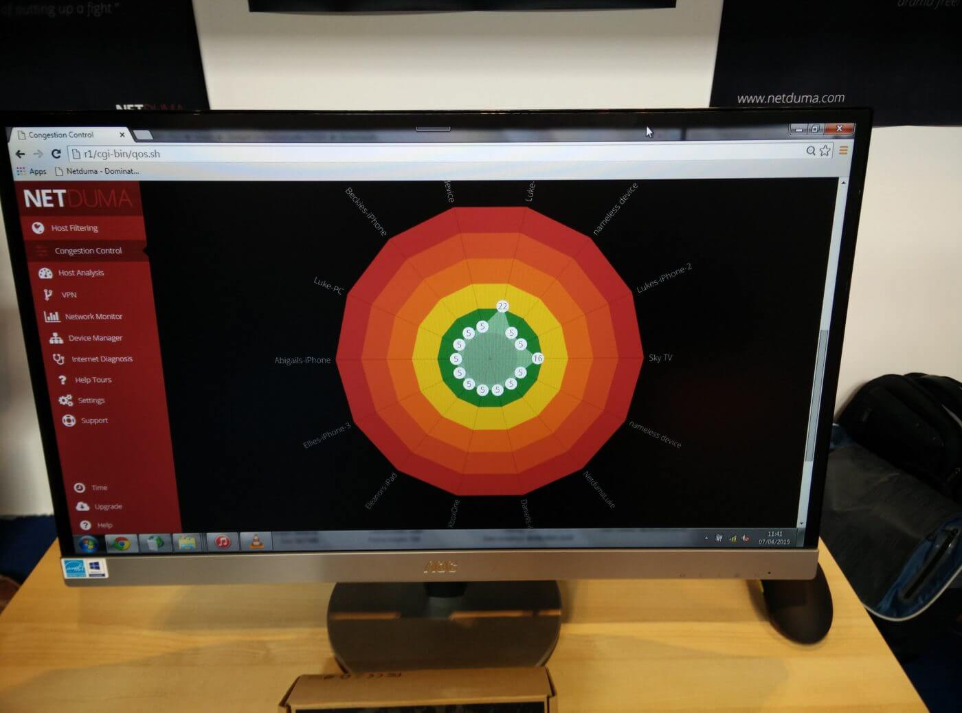 Netduma Control Software