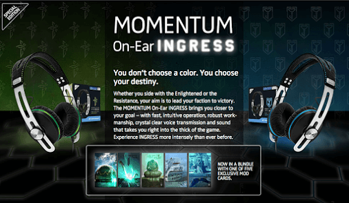Sennheiser Momentum On-Ear Ingress