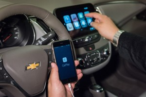 Chevrolet Android Auto and CarPlay