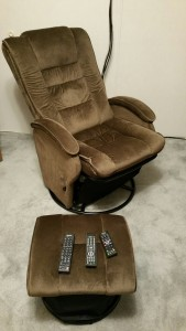 One Man Theater Chair
