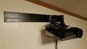 Projector Mounted
