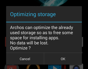 Archos Optimise