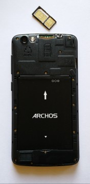 Archos Platinum 52 Back