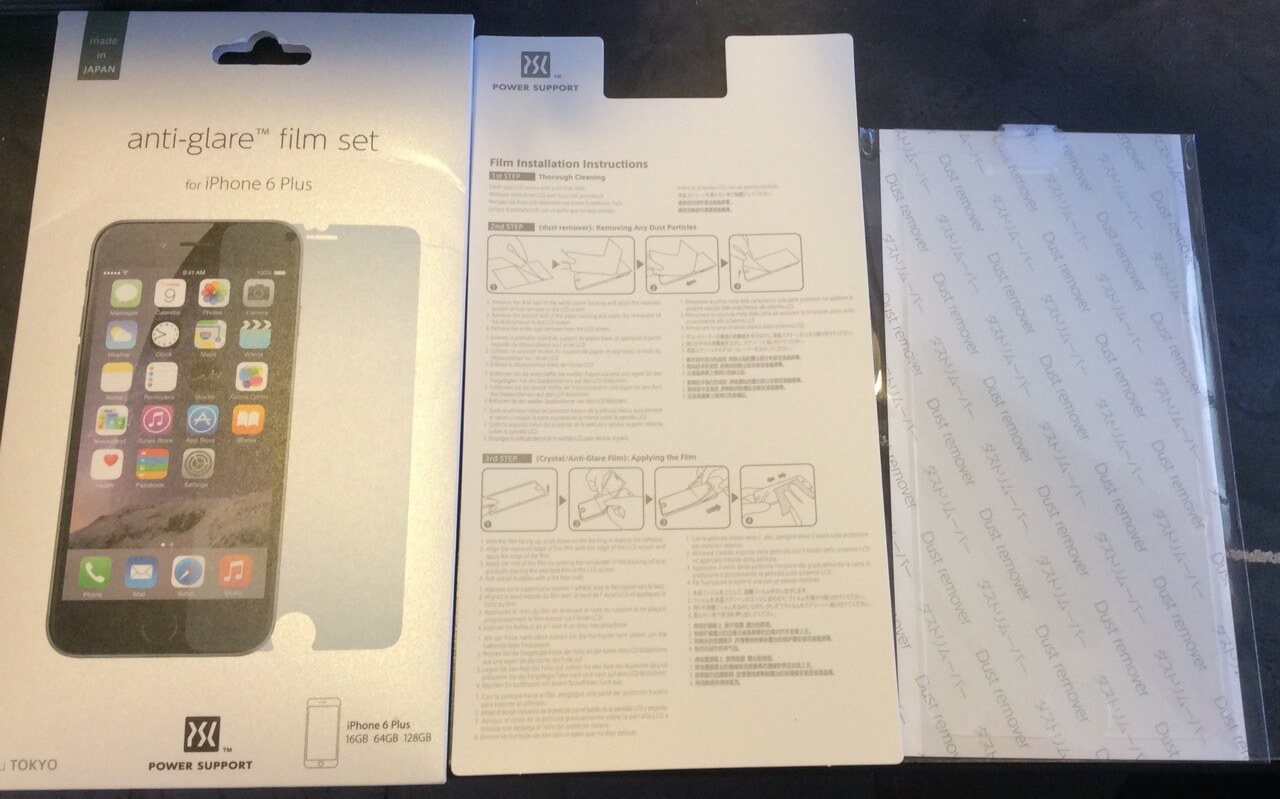 Power Support Anti Glare Film Set For Iphone 6 Plus Review Geek