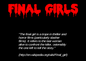 Final Girls Intro Screen