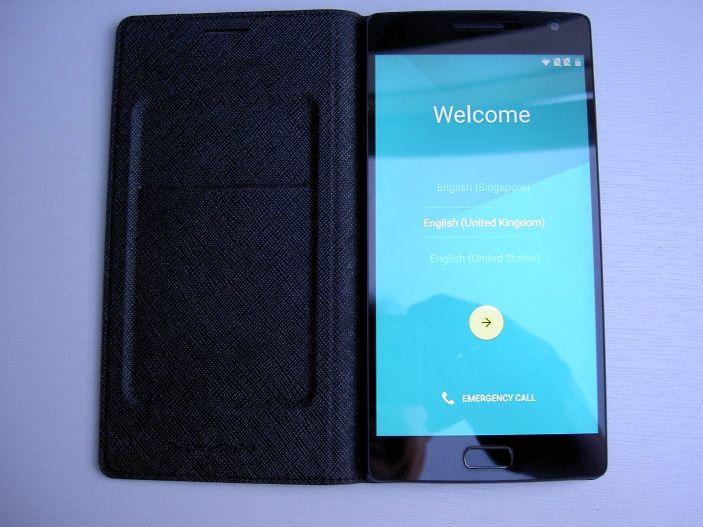 OnePlus 2 in case