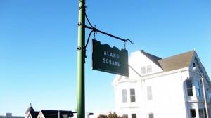 Alamo Square sign