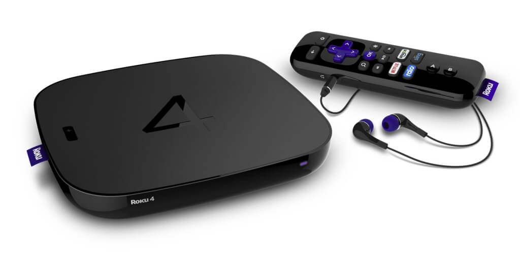 Roku 4 Streaming Player