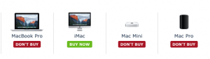 MacRumors buying guide