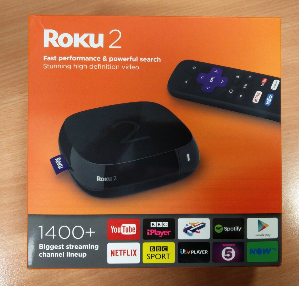 Roku 2 in Box