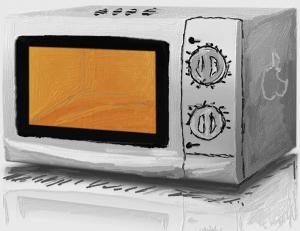 Apple Microwave