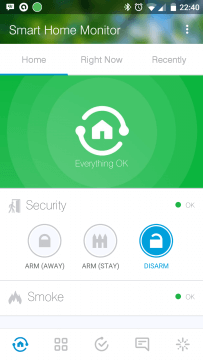 SmartThings Home Monitor