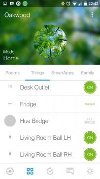 SmartThings Things
