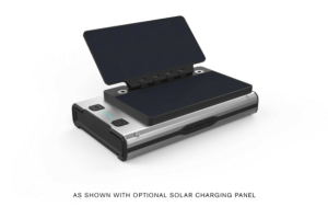 BRAVEN BRV BANK PRO LE with charging solar panel