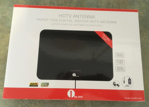ibyone HDTV antenna box front