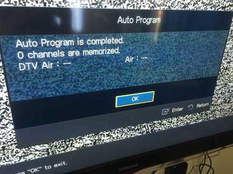 0 channels found