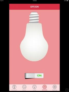 1byone LED smart bulb app