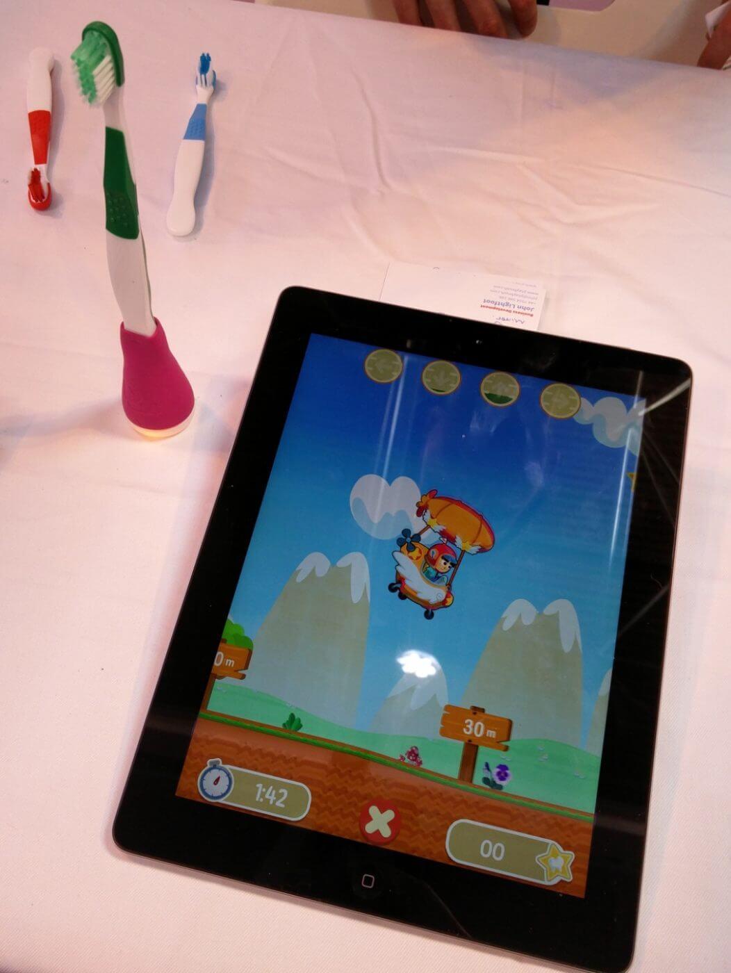 Playbrush with app